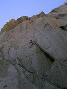 Rock Climbing Photo: Mammoth.