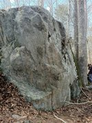 Rock Climbing Photo: Climb the arête stand start on jugs on south side...
