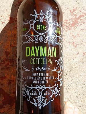 Stone Brewing Collaberation - Dayman Coffee IPA
