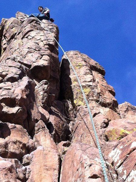 Tabletop Mountain in Golden Colorado