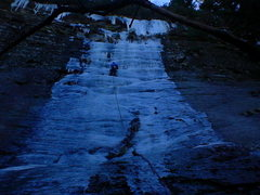 Rock Climbing Photo: Rare route 300' right of Starshine