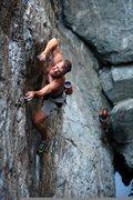 Rock Climbing Photo: 5 min hero .12a. wishing well, middle gorge (wishi...