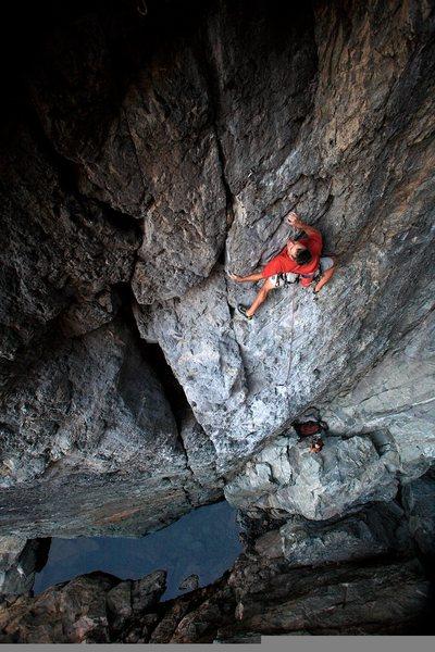 Rock Climbing Photo: Resurrection .11c. Upper Gorge, Emeralds.