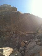 Rock Climbing Photo: Going to bolt this wall soon, it's right of hidden...