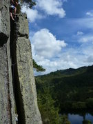Rock Climbing Photo: Pitch 2 chimney