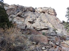Rock Climbing Photo: Closer up.