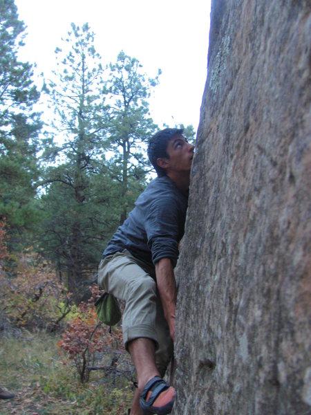 Rock Climbing Photo: Lightner.