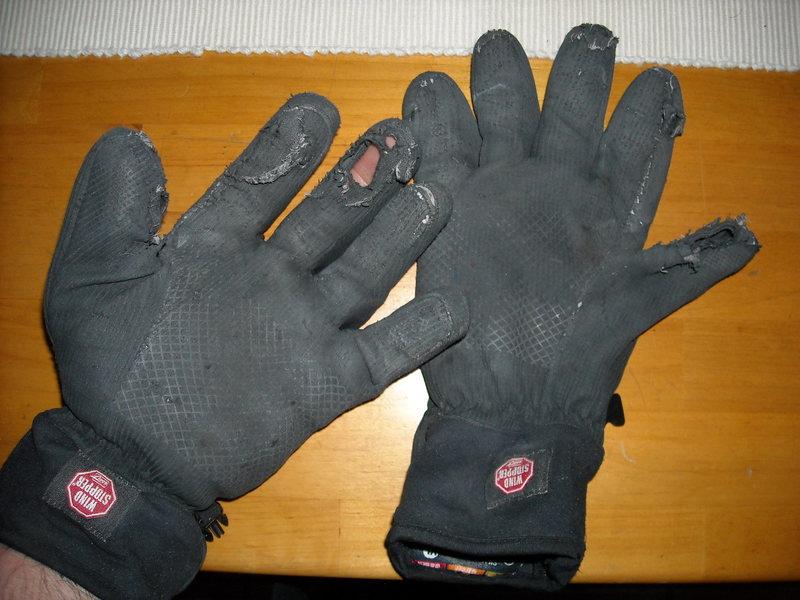 Rock Climbing Photo: Winter work gloves
