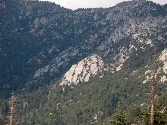 Rock Climbing Photo: One Hour Rock from Tahquitz Rock, San Jacinto Moun...