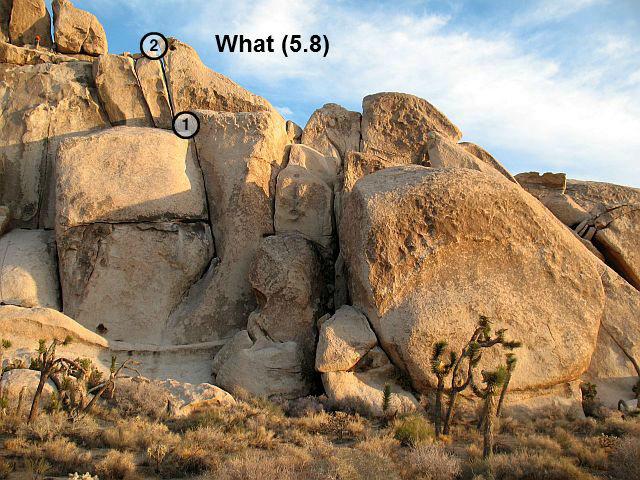 What (5.8), Joshua Tree NP