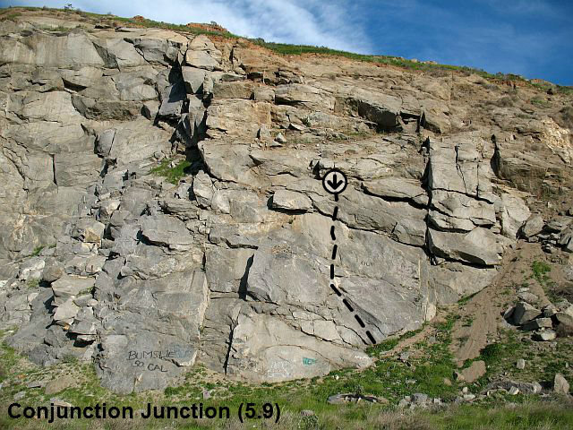 Conjunction Junction (5.9), Riverside Quarry