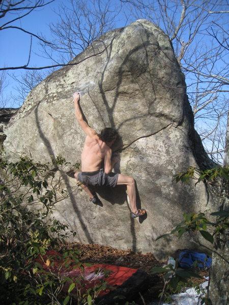 Rock Climbing Photo: Tremor!