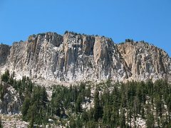 Rock Climbing Photo: Mammoth Crest from McLeod Lake, Mammoth Lakes Basi...