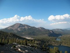 Rock Climbing Photo: Mammoth Mountain from Crystal Crag, Mammoth Lakes ...
