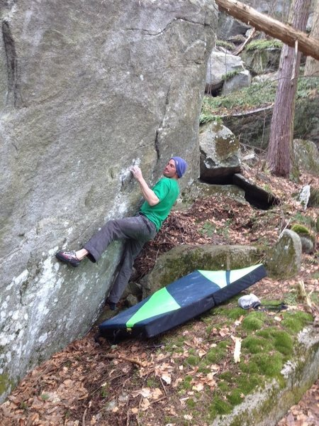 Rock Climbing Photo: Love climbing rocks