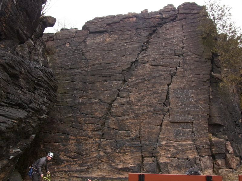 Rock Climbing Photo: Since there is no picture uploaded for this climb ...