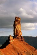 Rock Climbing Photo: Castleton Tower. First climbed in 1961 by Layton K...