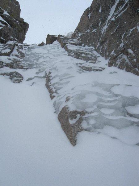 Rock Climbing Photo: Dutchman ice.