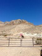Rock Climbing Photo: Parking Beta Shot