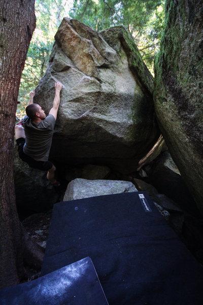 Rock Climbing Photo: Beautiful boulder