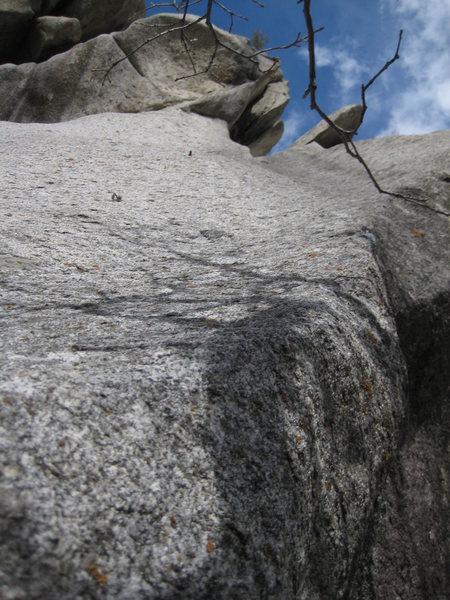 Rock Climbing Photo: Get the Hearse 5.10a R/X