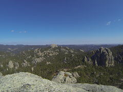 Rock Climbing Photo: Baldy and Magna Carta as seen from the summit of O...