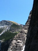 Rock Climbing Photo: Taylor on Darwins Rib with Family Values and Brida...
