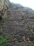 Rock Climbing Photo: Bottom of The Skylight Arret