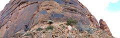 Rock Climbing Photo: Mars.