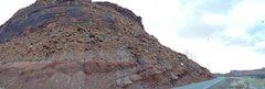 Rock Climbing Photo: Mars from Potash Road.