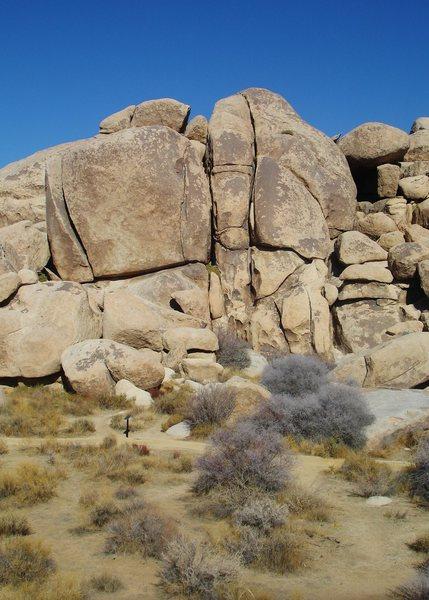 Rock Climbing Photo: Meteorite Crack