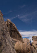 Rock Climbing Photo: Bryson (at 6 years old) climbs Eye for an Eye, in ...