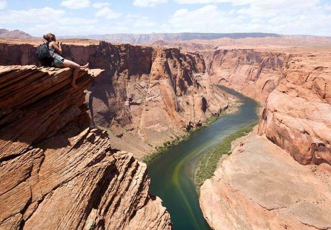 wish I was able to climb on this trip. Horseshoe Bend, AZ