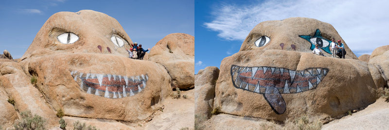 Rock Climbing Photo: The many faces of the Alabama Hills