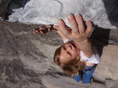 Rock Climbing Photo: Norah in Morrison