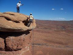 Rock Climbing Photo: Rap off the south side