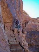 Rock Climbing Photo: Zac on B.G.