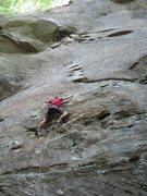 Rock Climbing Photo: Redpoint
