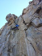 "Rock Climbing Photo: Mammoth Local Keith leads a spring trip to ""T..."