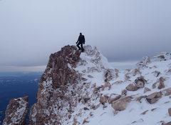 Rock Climbing Photo: Summit high point