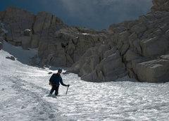 Rock Climbing Photo: Descending Bear Creek Spire.  Photo by Ryan Slayba...