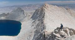 Rock Climbing Photo: East Ridge, Mt. Russell. Photo by Ryan Slaybaugh.