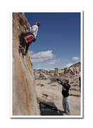Rock Climbing Photo: Bouldering in Joshua Tree