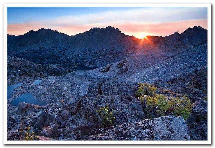 Sunrise from Glen Pass, Sierra Nevada
