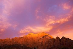 Rock Climbing Photo: The West Temple, Zion National Park
