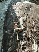 Rock Climbing Photo: On Waimea, 5.10d