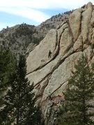 Rock Climbing Photo: Garlough on Odelay.