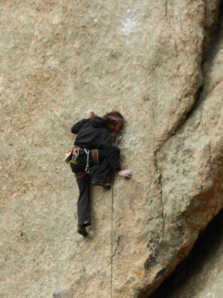 Rock Climbing Photo: Nice, technical climbing.