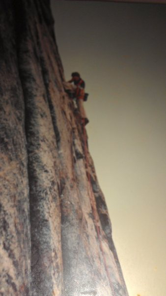 Rock Climbing Photo: Pitch 5 I believe