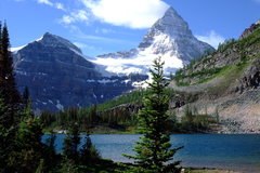 Rock Climbing Photo: The Majestic Mount Assiniboine